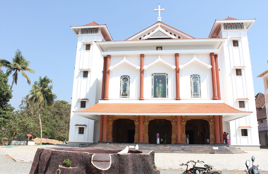 Malayattoor Church Christian Pilgrim Centres Kerala