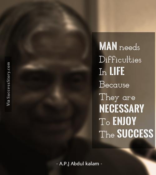 Dr A P J Abdul Kalam's Inspirational Quotes
