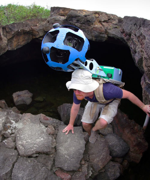 Google Street View at Galapagos Island
