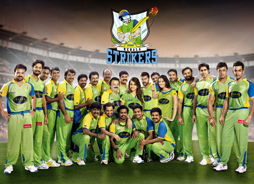 Celebrity Cricket League – Kerala Team