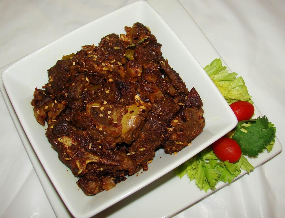 mutton roast