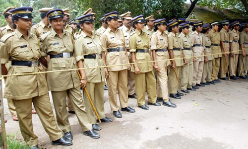 Women Police Teams in Kerala